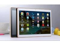64GB tablet pc in gold/white and Gold smartphone
