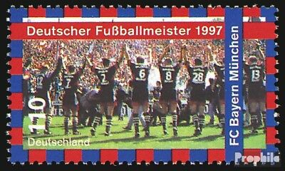 BRD (BR.Duitsland) 1958 postfris 1997 Duits Voetbalkampioen