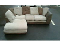 CORNER FABRIC SOFA -free delivery