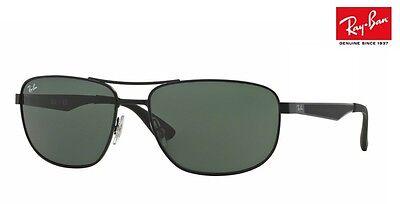 NEW RAY-BAN Sunglasses RB3528 006/71 Matte Black 58mm