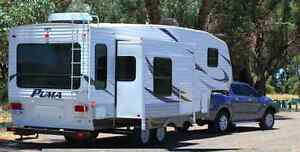Puma 5th wheel inc Mazda Dual Cab BT50 4 x 4 tow vehicle Joondalup Joondalup Area Preview