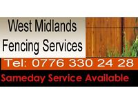Fencing Services Birmingham - Do you need your garden fence built or rebuilt? Painting & Decorating