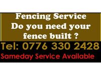 Fencing Services Birmingham, West Midlands - Do you need your garden fence built?