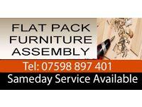 Flat Pack Furniture Assembly Service, Handyman, Carpenter, Lock changing, door fitting, curtain rail