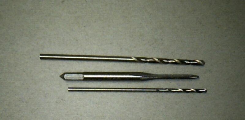 USA Shipping - M1.4 Tap & 1.1mm 1.6mm Drill Set