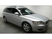 2010(60)VOLVO V50 1.6 DRIVE S MET SILVER,NEW MOT,LOADS OF HISTORY,£30 TAX,GREAT VALUE