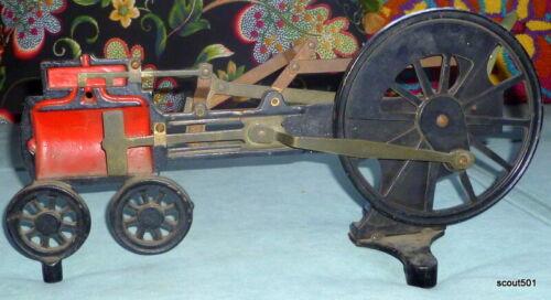 Antique Welch Scientific Company Steam Engine Train Demonstrator School Teaching