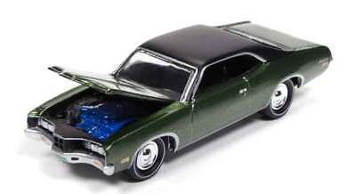 1/64 JOHNNY LIGHTNING MUSCLE SERIES 2 1971 Mercury Montego in Metallic Green