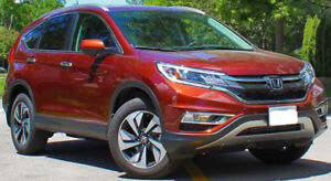 2015 Honda CRV-Touring Only 28,000 km - No accident-1 owner