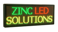 LED PROGRAMMABLE SIGN. ENSEIGNE LUMINEUSE PROGRAMMABLE DEL