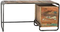 Dakota Reclaimed Boat Wood Desk NEW Reg $1485