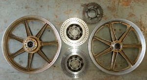 Yamaha RD400 Cast Wheels