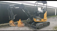 Skid steer and mini excavator services