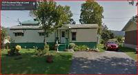 Maison mobile à vendre à Baie-saint-Paul