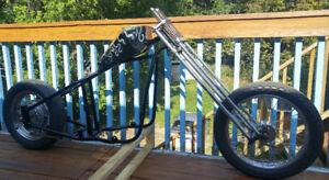 Chopper frame Springer and parts