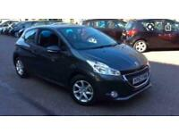 2013 PEUGEOT 208 1.4 HDI ACTIVE 67BHP ONLY 75K SERVICE HISTORY ALLOYS £0 TAX!!
