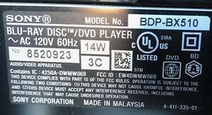 Sony Blu-ray 3D DVD Player - price reduction! Cambridge Kitchener Area image 4