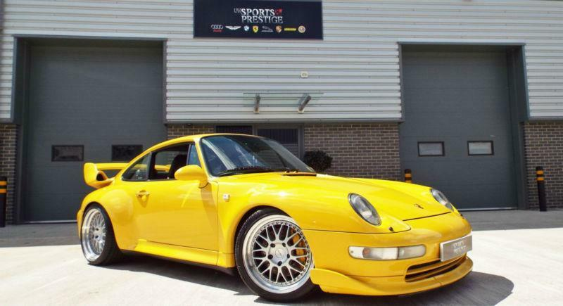 1997 porsche 911 3 6 turbo factory gt2 extras 993 speed yellow 1 off creation in. Black Bedroom Furniture Sets. Home Design Ideas