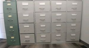 4 Drawer File Cabinets for Sale. $50. each