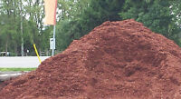 $40 cy RED OR BLACK MULCH