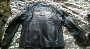 Jacket, chaps and vest. Harley Davidson Anniversary edition