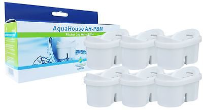 6x AquaHouse Compatible Filter Cartridges to fit Brita Maxtra Water Filter Jugs