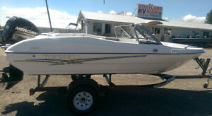 Boats, Boats, Boats! New and Used In Stock