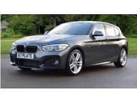 BMW 1 SERIES 118I M SPORT Grey Auto Petrol, 2017