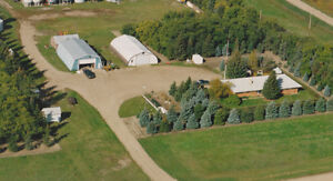 Beautiful acreage w 2 shops 13 acres - W. of Swift Current