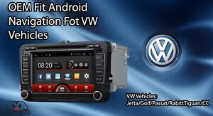 VW JETTA OEM Fit Navigation Android GPS Backup Camera