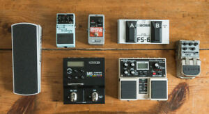 Guitar Effects and Stompboxes, BOSS, EHX, L6