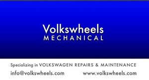 Specializing  in Volkswagen/Audi Repairs and Maintenance