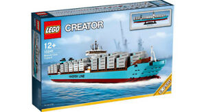 LEGO Maersk Triple-E Ship - Retired - New - Set 10241