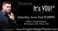 """It's not me... It's YOU! An Evening of Magic with David Johnson"