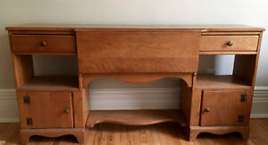 Solid maple sideboard