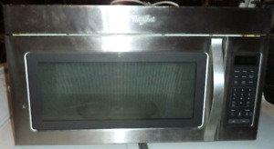 WHIRLPOOL OVER THE RANGE MICROWAVE FOR SALE!!