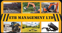 Excavator, Skid-Steer and Dump trailer with operator for hire