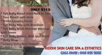 Body Scrub,Bleach & wrap,Mani-Pedi,Threading,Facial,Sauna,Waxing