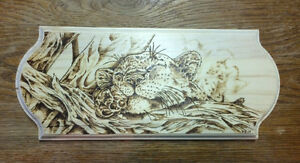 Custom Wood Burning Art - Pyrography Belleville Belleville Area image 4