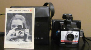 Antique Polaroid Colorpack 80 Instant Camera ideal for Christmas
