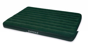 AIRBED W/ HAND HELD BATTERY PUMP QUEEN