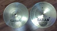 "Sabian AAX 14""/36cm Fast Hat Hi-Hats Symbal"