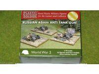 Neu Zvezda 6112-1//72 Wargame Addon Russisches 45mm Geschütz//Pak