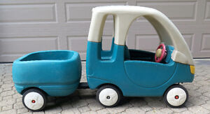 LITTLE TIKES STEP 2 COUPE + TRAILER