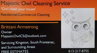 Majestic Owl Cleaning Services