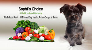 Sophii's Choice Field to Bowl Barkery