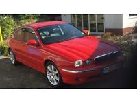 2002 Jaguar X-Type 3.0 V6 SE 4Door Colour: RED