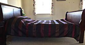 Walnut Colour Bed frame