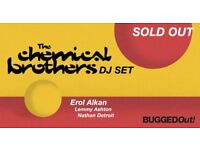 2 x Chemical brothers ticket ***REDUCED PRICE***