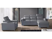 Delivery 1-10 days CALIFORNIA BRAND NEW CORNER SOFA BED PU LEATHER WE CAN Delivered